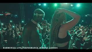 Harmonize Live Performance in Mona Lounge (TABATA) Part 2