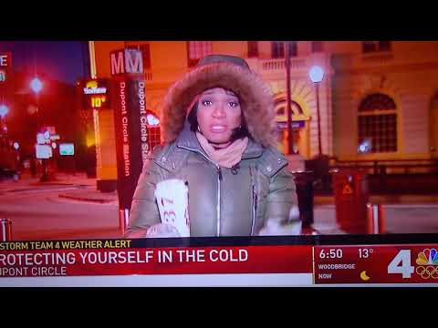News 4 Washington - How to protect yourself from freezing - Oops