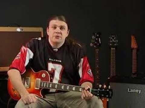 Guitar tuition: How to play pinch harmonics (squealies)