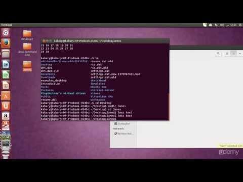 Linux Command Line Basics - part 4