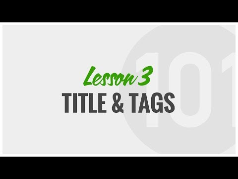 Upwork Tutorial: How to Write Your Profile Title and Tags