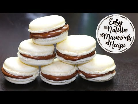 Easy Nutella Macarons Recipe