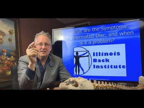 What are the Symptoms of a Herniated Disc, and when is it a problem