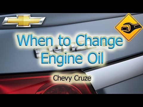 When to Change Engine Oil | Chevrolet Cruze
