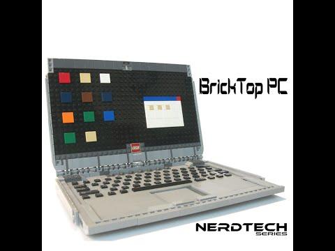 BrickTop PC: Functional LEGO Laptop!