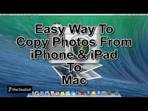 How To Copy Photos From iPhone to Mac