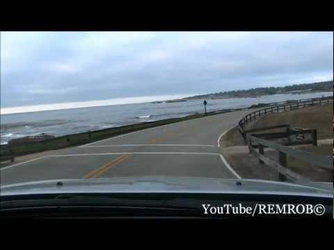 Dodge Charger SRT8 Spirited Drive On 17 Mile Drive