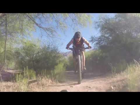Urban Assault Trail in Tucson - Le Tour de Plants