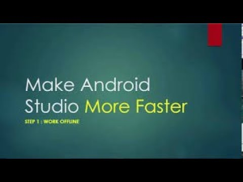 How to make Android Studio Faster using RAM Latest Trick 2018
