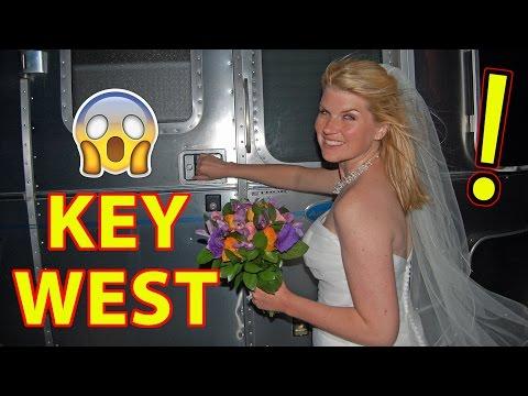 WE GET MARRIED IN KEY WEST -- LONG LONG HONEYMOON BEGINS!!!