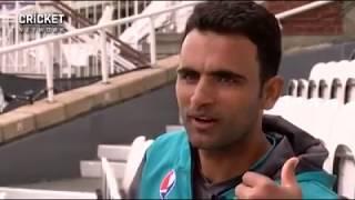 Live interview fakhar zaman 2 hours before final match || ind vs pak || cricket hd