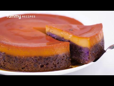 Ube Leche Flan Cake Recipe | Yummy Ph
