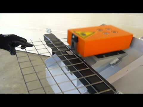 wire mesh trimming system