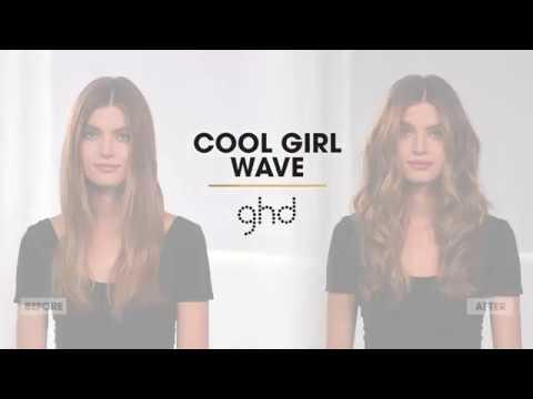 Cool Girl Wave | Wavy Hair Tutorial | ghd #infinitestyle