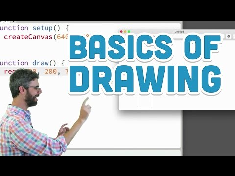 1.3: Basics of drawing - p5.js Tutorial