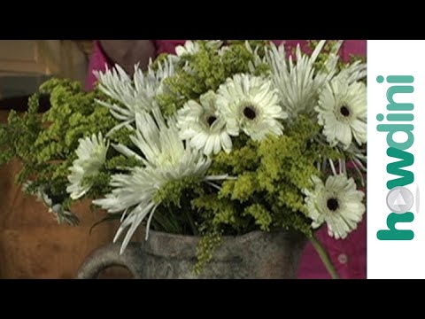 How to make inexpensive flower arrangements