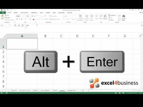 How to Add a Diagonal Line to a Cell in Excel