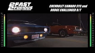 2 Fast 2 Furious: Engine Sounds - Camaro & Challenger