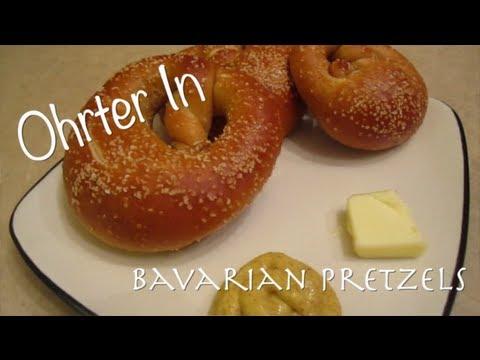 Ohrter In - Bavarian Pretzels (made with Lye)