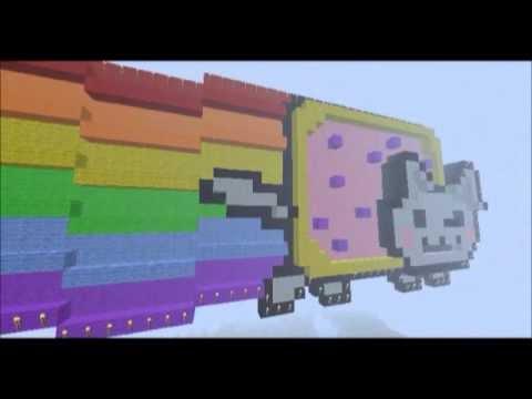 3D Minecraft Nyan Cat [ Pop Tart Cat ]