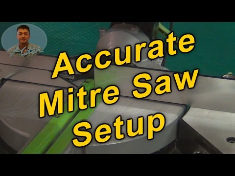 Mitre Saw Setup for Accurate Cuts