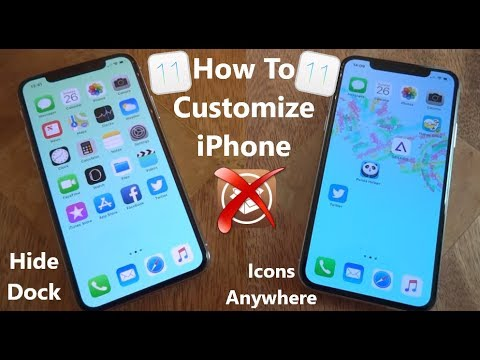 NEW How To Customize & Theme iPhone FREE iOS 11 - 11.4 / 12 NO Jailbreak NO Computer