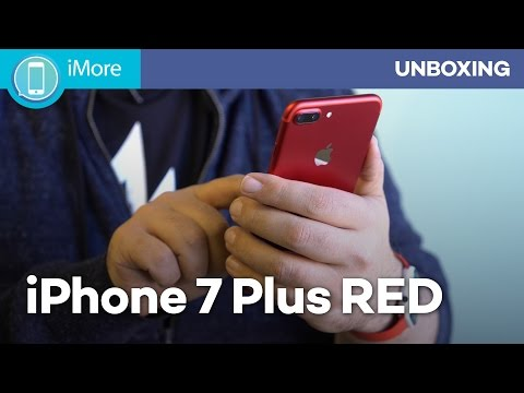 RED iPhone 7 unboxing!