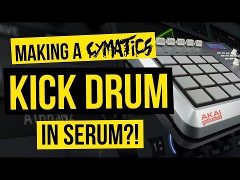 How To Make a Cymatics Kick Drum in Serum - FREE PRESET