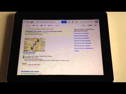 Google Voice Assistant on iPad