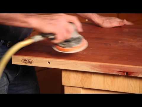 How to repair butcher block counter top | McClure Block | Part 3