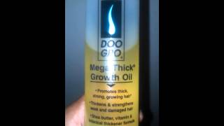 Doo Gro Mega Thick Growth Oil It Really Works