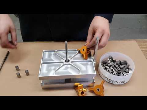Testing Slide Adjusting Plungers for an adjustable clamp assembly handle.