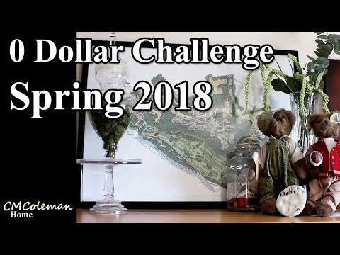 0 dollar Decorating - Spring 2018