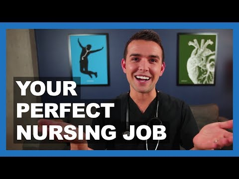 8 Questions To Find Your PERFECT NURSING JOB!