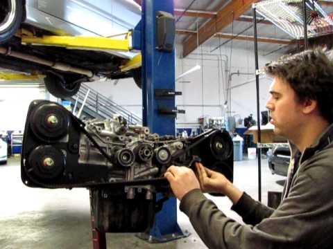 Subaru timing belt installation