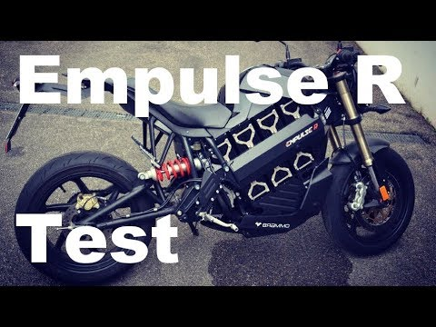 Brammo Empulse R First Contact and Test the electric Motorcycle