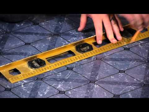 How to Lay Peel & Stick Tiles Over Linoleum : Flooring Help