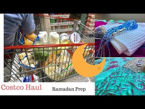 Costco Haul & My Ramadan Prep 2017 Nazkitchenfun