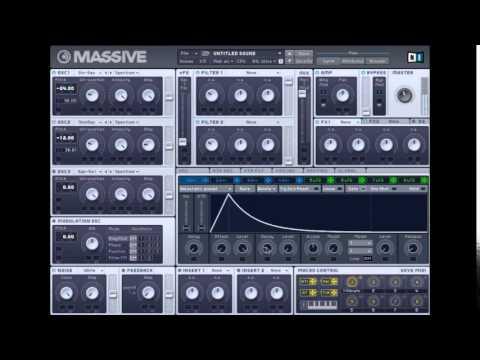 How To Make 808's Using Massive Tutorial
