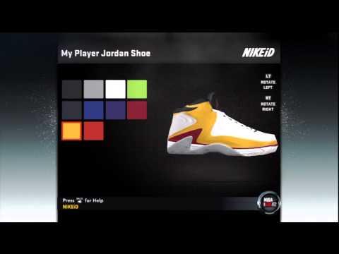 NBA 2K12 My Player: Create a Shoe IV - Unlimited Jordan Shoe Endorsement
