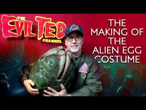 The Making of the Alien Egg Costume