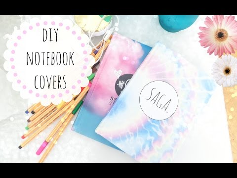 ❀DIY customized notebook covers❀