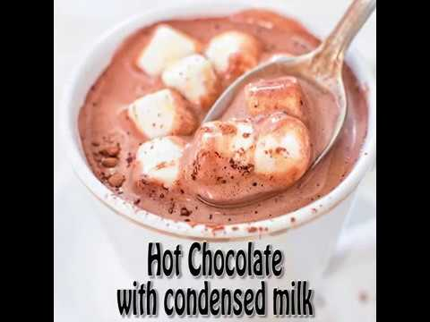 HOT CHOCOLATE WITH CONDENSED MILK