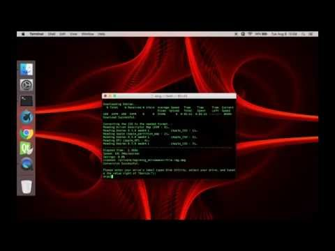 How to Dual Boot Kali Linux with Mac OS X (no virtual machines)