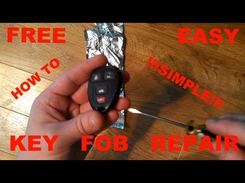 How to Fix Key Fob FREE/EASY Unresponsive Broken???