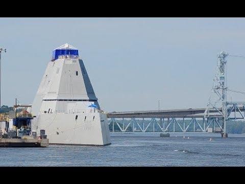 Destroyer Michael Monsoor (DDG-1001) Fitting Out + DDG-1002 LBJ and DDG 116 Thomas Hudner    BIW