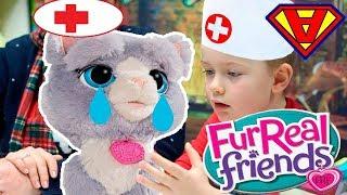IL PICCOLO VETERINARIO - DOTTOR ALEX si prende cura di Bootsie, un gattino con il mal di pancia !