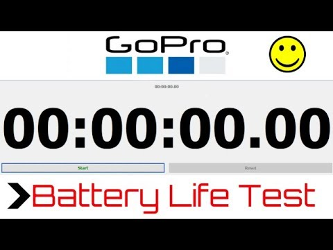 GoPro Hero 5 Battery Life Test with 1080p Recording