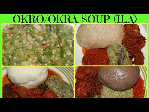 How to Make Okro/Okra soup | Nigerian Okro Soup
