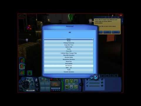 The Sim 3 Skill Cheats And MasterController